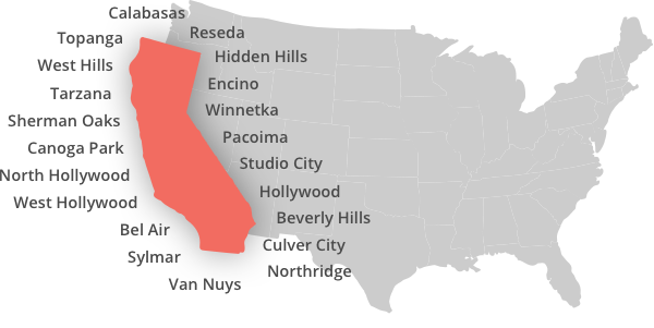Locksmith Service Areas in Los Angeles